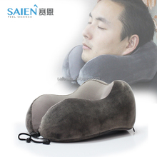 2017 hot selling U-shaped memory foam orthopedic neck pillow for travel