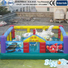 Inflatable Bounce-Ocean Theme Outdoor Playground Equipment Inflatable Fun City