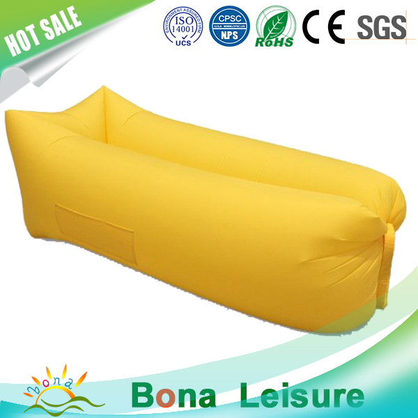 Portable Inflatable Lounger Outdoor/Indoor Air Sofa Couch with Travel Bag Waterproof Compression Sacks for Camping
