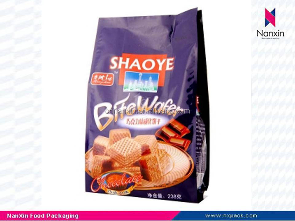 plastic bags packaging for biscuit