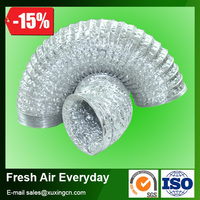 air conditioning aluminum foil flexible pu duct