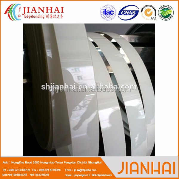 Plastic pvc edging strip for decoration furniture