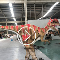OA6847 Realistic Walking With Hidden Legs Dinosaur Costume