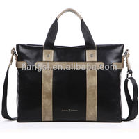 Luxury leather big designer bags for men