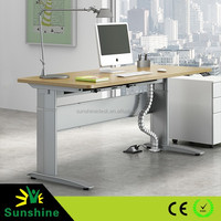 Manual and electric desk for office, automatic lifting metal, linak desk