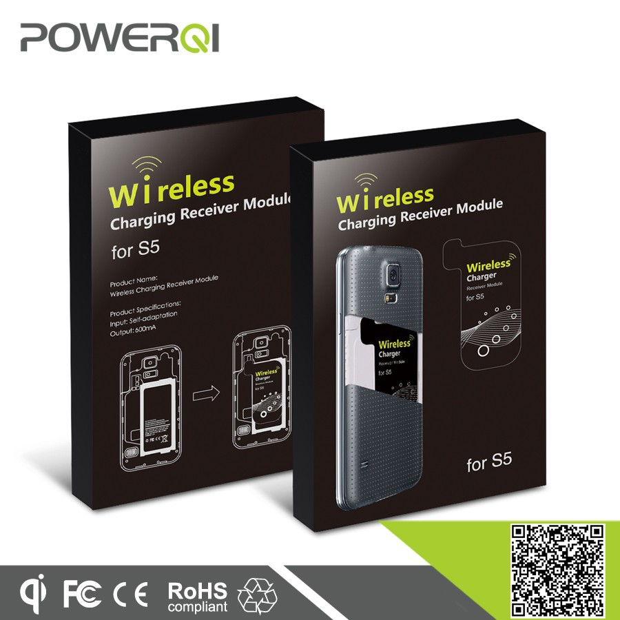 Qi enable wireless charging receiver module for Samsung Galaxy S5