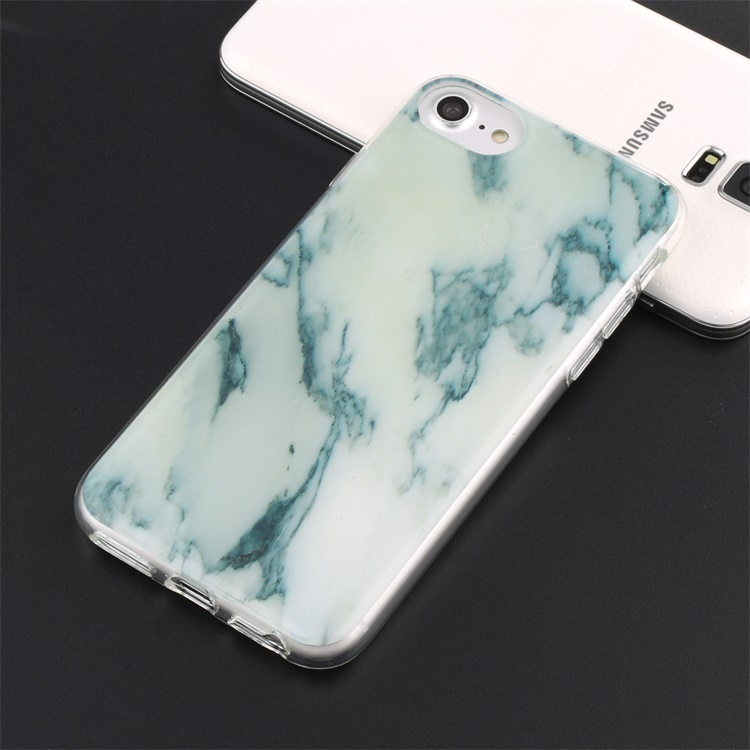 Hard TPU Case Print Crystal Various color Marble Pattern for iphone 7 marble case
