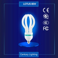 85W 4U 17mm Lotus Lamp Lotus Bulb Energy Saving Lamp Bulb
