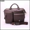 Guangzhou supplier best sell leather briefcase / men briefcase / men messenger bag