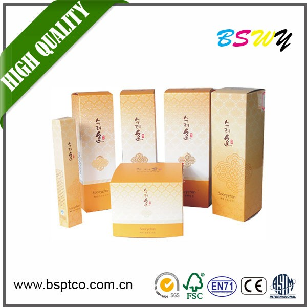 welcome OEM Wholesale advanced paper box customized cosmetic paper box packaging recyclable paper box for watch/perfume