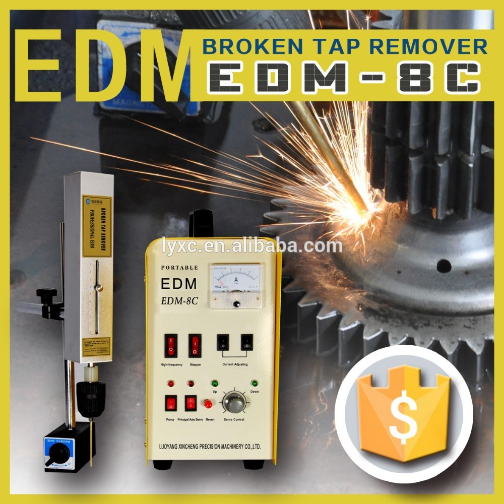 800W spark erosion machine broken bolts taps remover