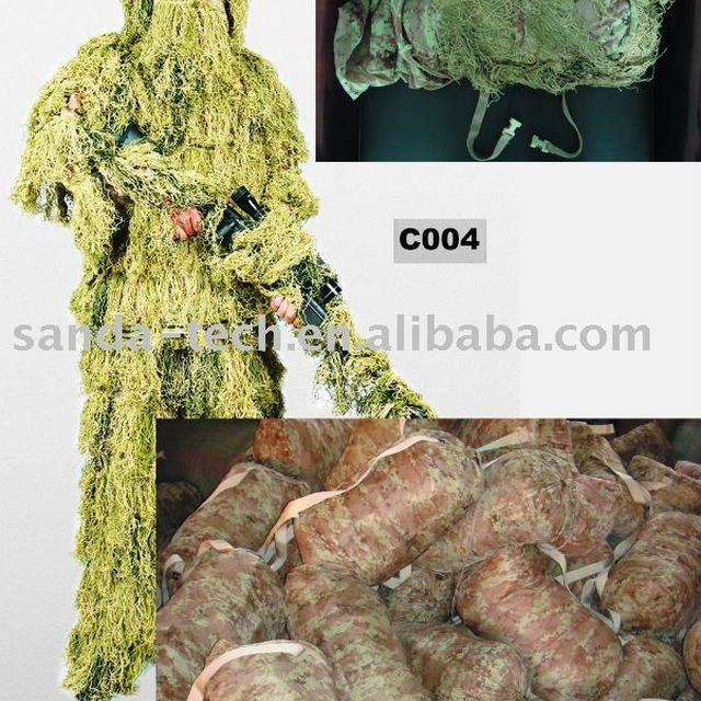 Ghillie suit/Camouflage suit/hunting clothing, woodland leaf (C003)
