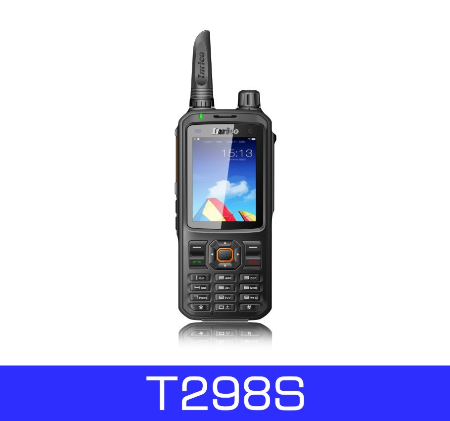 Inrico T298S high quality wireless intercom sim card gsm mobile phone with walkie talkie