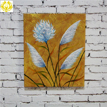 Beautiful landscape custom canvas frameless oil painting