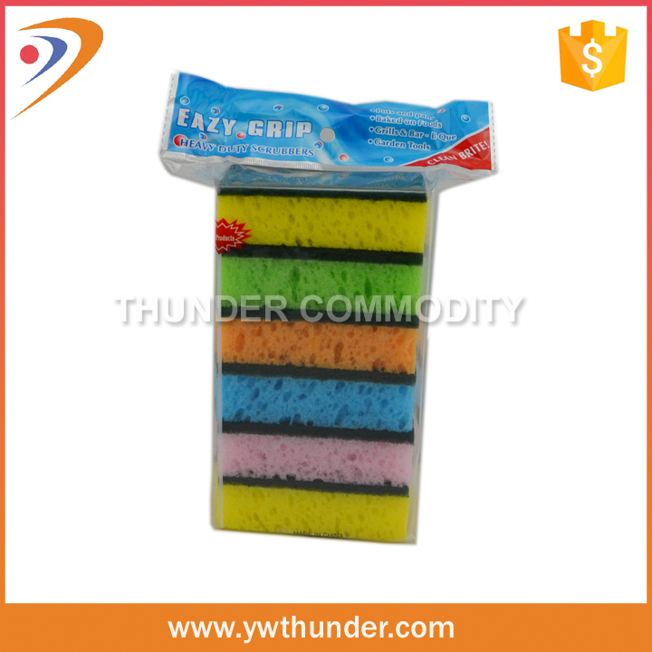 Economy Pack Heavy Medium Light Duty Kitchen Cleaning Scouring Scrub Sponges Pad