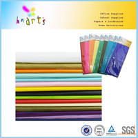 multi-color tissue paper wrapping tissue paper