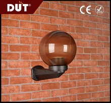 200mm waterproof outdoor will not change color bollard Globe light cover