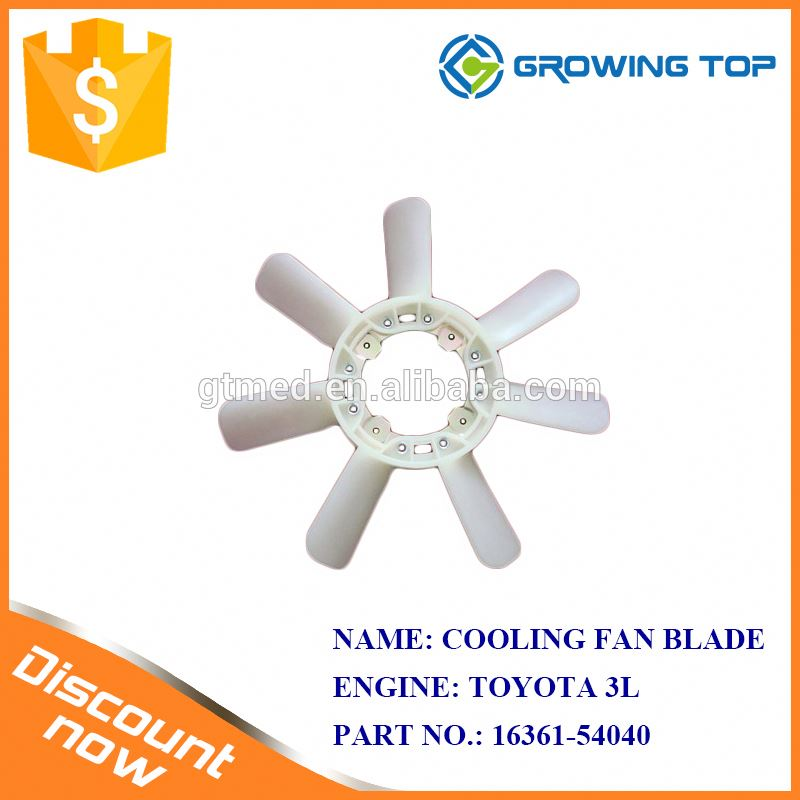 Heavy Duty OEM 16361-54040 Radiator Fan Blade for toyota