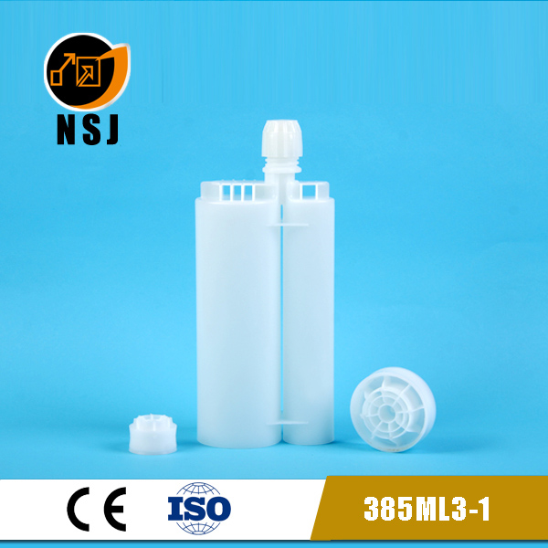 385ml 3:1 empty silicone sealant cartridge for dental cartridge