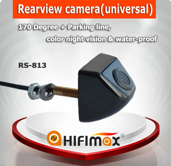 Hifimax Waterproof car camera for all cars, universal car rear view camera, car reverse rear view camera