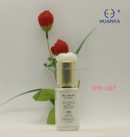 Very beautiful glass bottle with 18mm UV coating pump for lotion