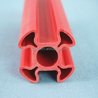Eco friendly customized extrusion plastic pvc profile with best price in China