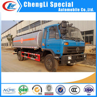4X2 Oil tank truck DONGFENG fuel tank truck 14500 Litre DONGFENG oil truck