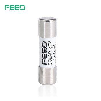CE Solar Power Application DC-Fuse 1P 48V 1000V 10*38mm 15A 30A DC Miro Fuse For PV System