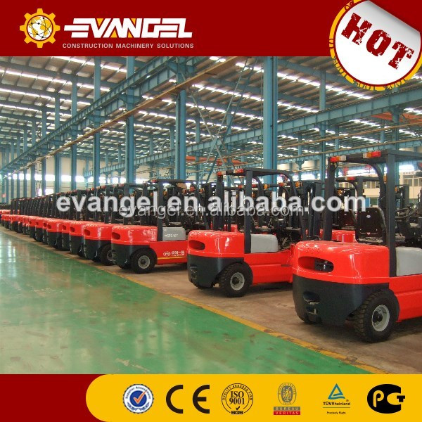 small battery operated fork lift, China mini electric forklift truck