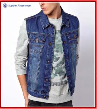 Wholesale Sleeveless Denim Jacket For Men Buy Sleeveless