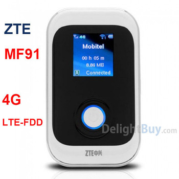 Original 100Mbps ZTE MF91 4g LTE unlocked wireless 4G router / TELSTRA Edition (free shipping)
