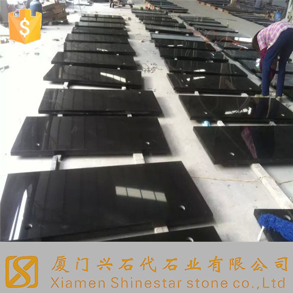 cut to size shanxi black granite with cheap black granite price