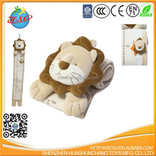 lovely lion head kids growth chart
