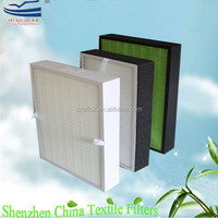 Non-woven material antibacterial HEPA filter for air conditioner