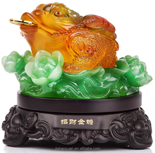 Fengshui Jinchan Money and Fortune frog Toad for home decoration&gift