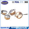 7pcs Stainless Steel 3ply Waterless Copper