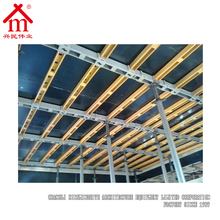 Precast Concrete Hollow Rectangular Beam Slab And Post Supporting System
