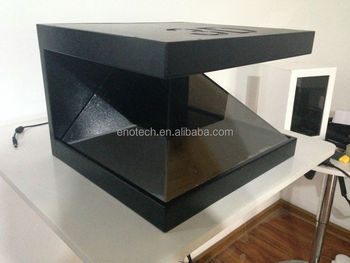 outdoor lcd display holographic display 3d pyramid/ 3d hologram display