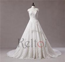 luxury high neck open back ball gown wedding dress with butterflies and crystal beads
