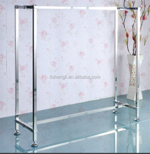 Stainless steel display rack polish display shelf stain display stand
