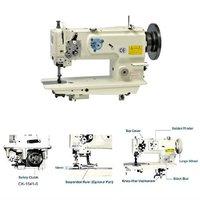 Single-needle, Unison-feed, Lockstitch Machine with Horizontal-axis Large Hook