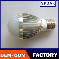 5 w white LED bulb lights will shine super bright high quality not corridor household energy-saving lamps
