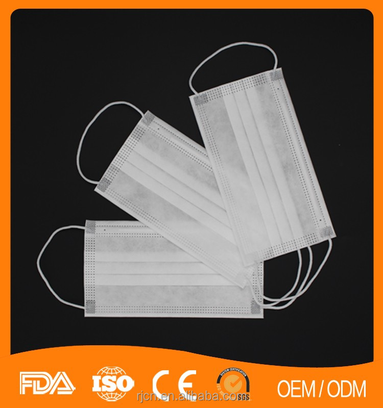 Disposable face masks, RJ, made in China