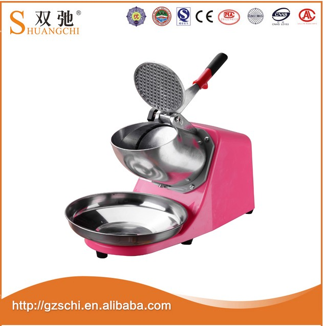 SC-07 CE new technology 250W automatic electric ice crusher shaver machine