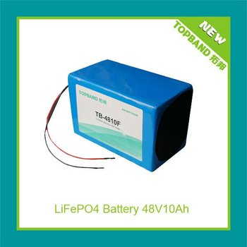3 years warranty motorcycle lithium battery pack 48V10Ah TB-4810F