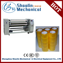 High efficient bopp adhesive tape rewinding/slitting/cutting machine with lowest price
