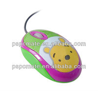 Winnie the Pooh Shape Wired Mouse