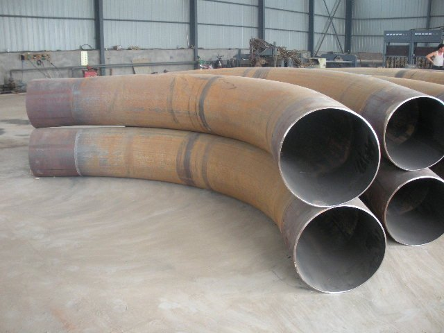 DIN JIS ANSI GB asme b16.49 a234 wpb butt welded pipe bend (carbon steel/stainless steel /alloy steel )from China supplier