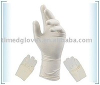 Light powered Latex surgical gloves