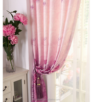Blackout Curtain, Polyester Fabric Blackout Curtain, Chinese manufacture Polyester Fabric Printed